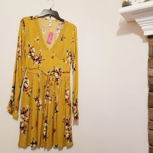 Xhilaration Long Sleeved Dress NWT